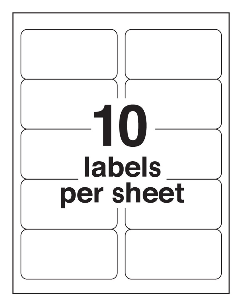 Avery Labels 10 Per Page Template from iworkcommunity.com